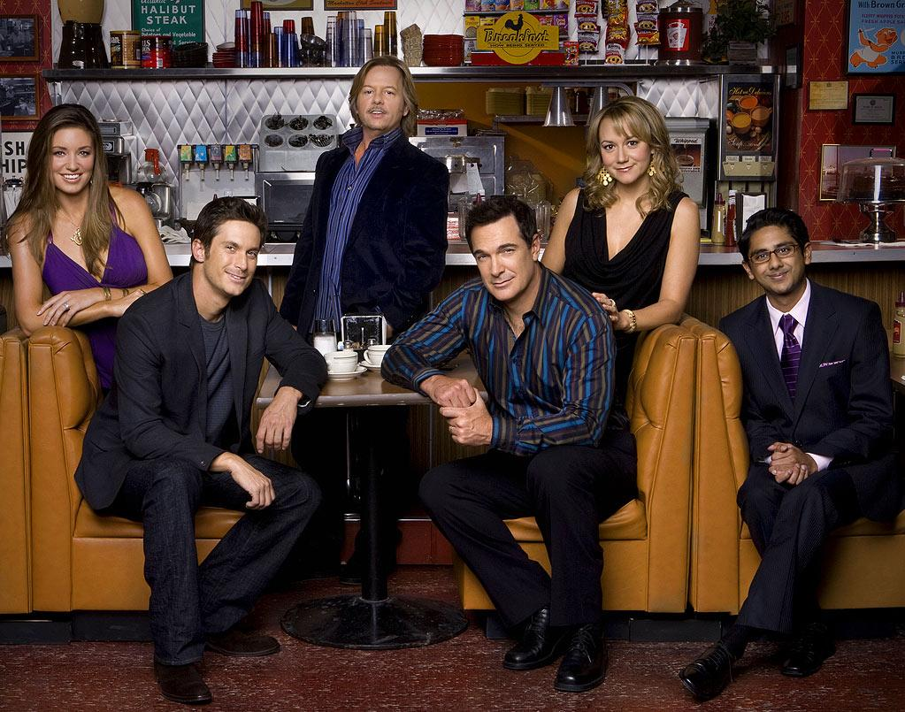 """The cast of """"Rules of Engagement."""""""