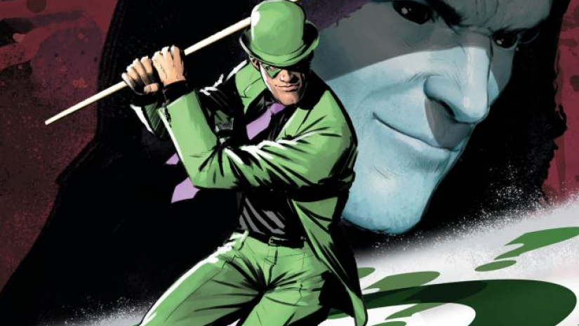 DC Comics' master of puzzles, the Riddler