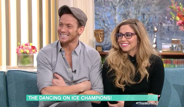 Joe Swash explained that someone had apparently found the trophy. (ITV)