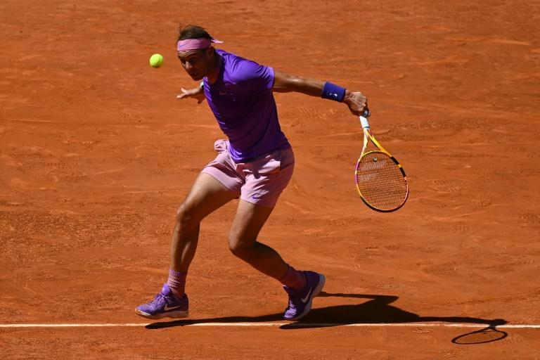 Rafael Nadal is bidding for a sixth Madrid Open title