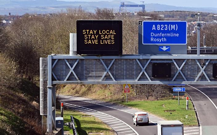 Scotland's 'Stay Local' messaging will lift this Friday - Getty