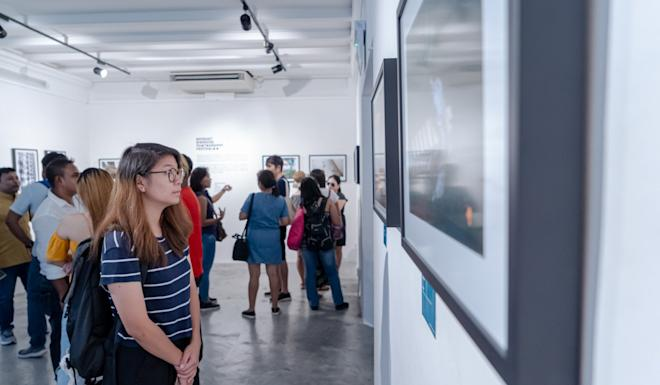 The Migrant Workers Photography Festival in Singapore. Photo: Handout