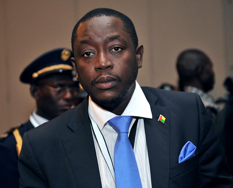 Guinea-Bissau said a government led by Prime Minister Baciro Dja, seen on April 12, 2012 in Abidjan, when he was the defence minister, had been formed