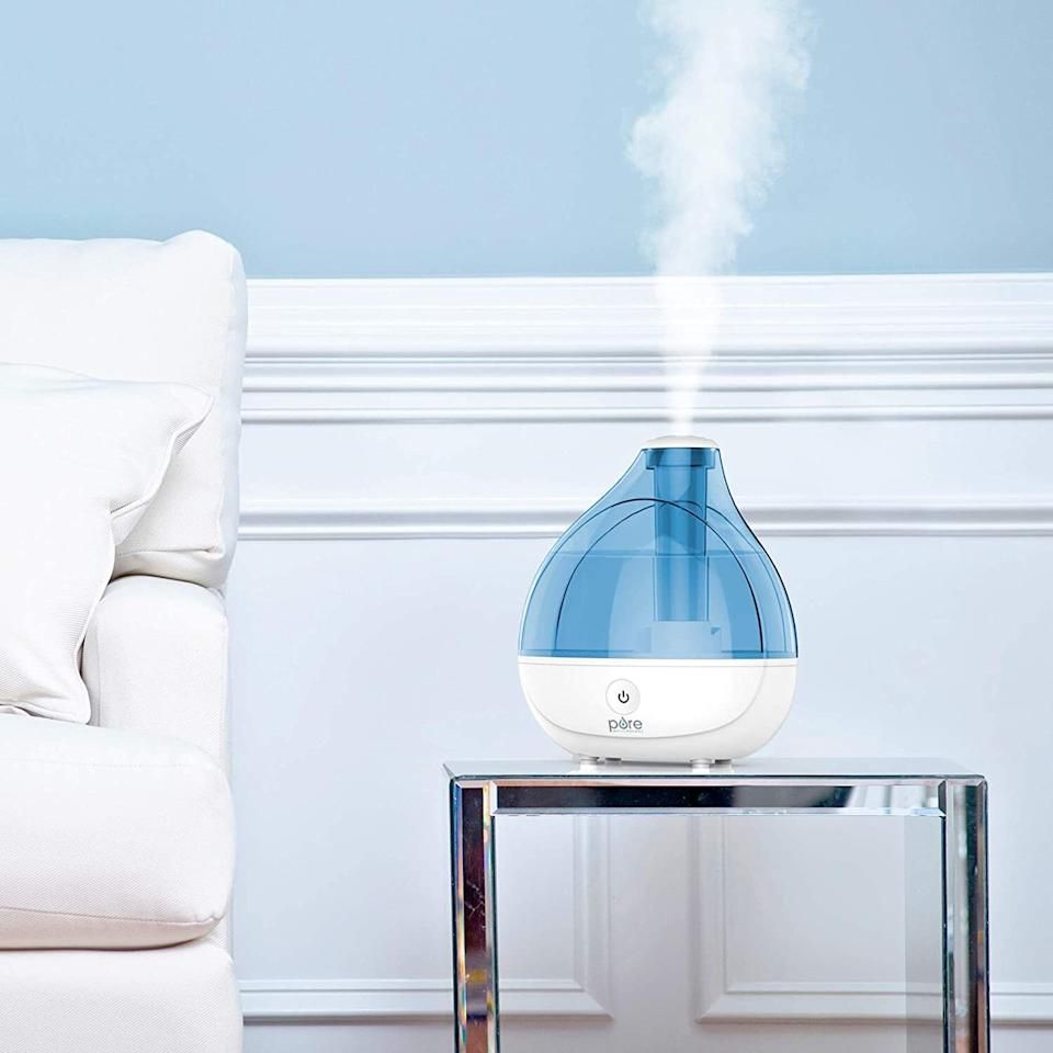 """Itmay seriously help your stuffy nasal passages and dry winter skin woes. Buy one for your bedroom AT LEAST but you'll thank yourself for buying one for your living area too. Just think of that harsh indoor heat!This cool mist model has a 1.5-liter tank that can put moisture into the air for up to 16 hours of continuous operation. FYI, this size tank is good coverage for bedrooms, offices, and other medium-sized rooms.<br /><br /><strong><a href=""""https://www.amazon.com/Pure-Enrichment-MistAire-Ultrasonic-Humidifier/dp/B013IJPTFK?&linkCode=ll1&tag=huffpost-bfsyndication-20&linkId=c11cea225cb8072127b137ee619d338a&language=en_US&ref_=as_li_ss_tl"""" target=""""_blank"""" rel=""""noopener noreferrer"""">Get it from Amazon for $39.99.</a></strong>"""