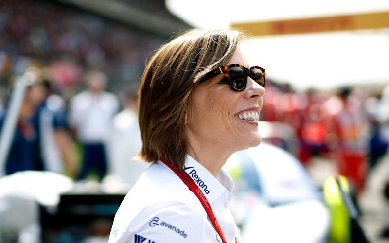 Claire Williams is deputy team principal and commercial director of the Williams Formula One racing team - LAT Photographic