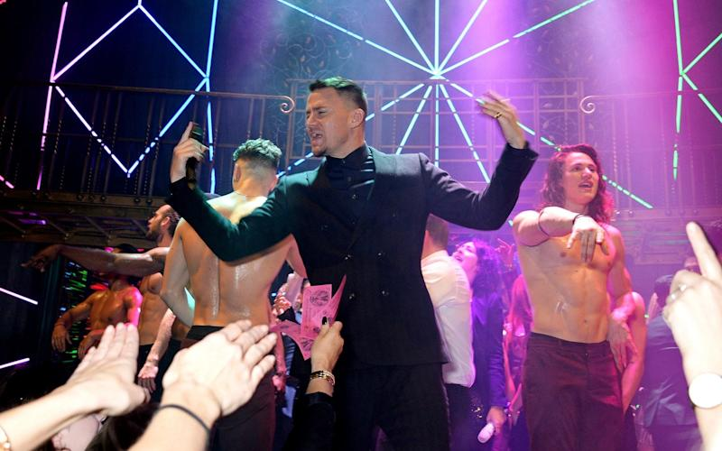 Channing Tatum, the actor on whose life the show is loosely based - Getty Images Europe