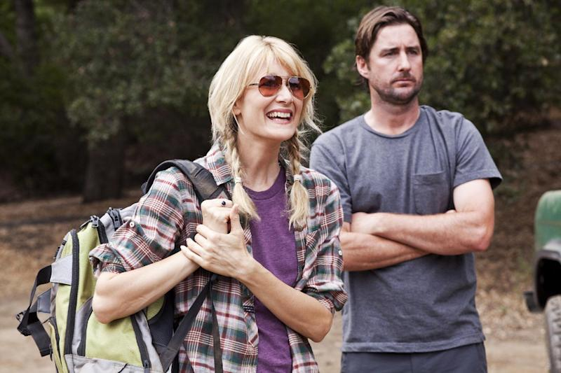 "In this publicity image released by HBO, Laura Dern, left, and Luke Wilson are shown in a scene from the original HBO series ""Enlightened,"" which premiered on Oct. 10, 2011. HBO says Dern's series ""Enlightened"" isn't coming back for a third season. In a statement Tuesday, March 19, 2013, the premium cable channel said it was proud of the show, and called canceling it a ""very difficult decision."" (AP Photo/HBO, Nicola Goode, file)"