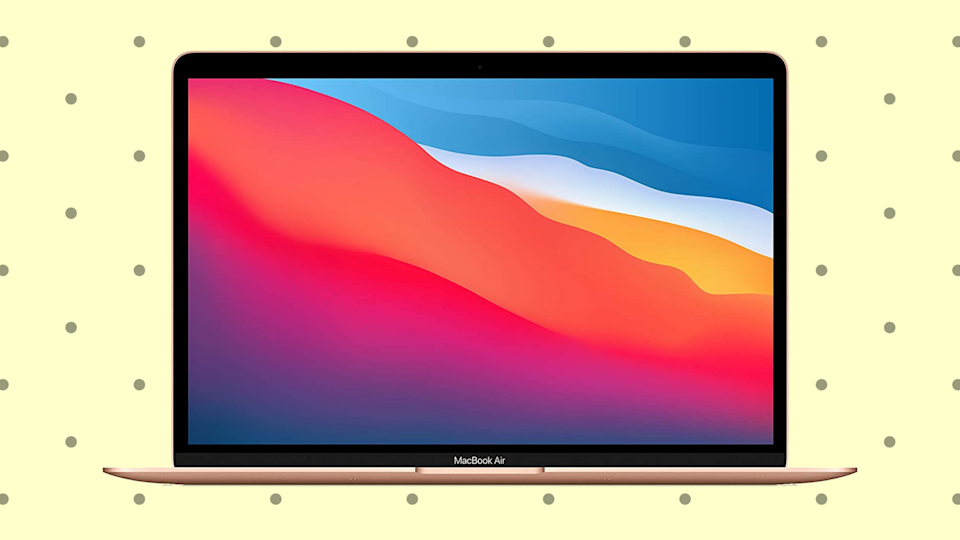 The newest Apple MacBook Air (yeah, the one with the M1 chip) is $100 off for Memorial Day! (Photo: Apple)