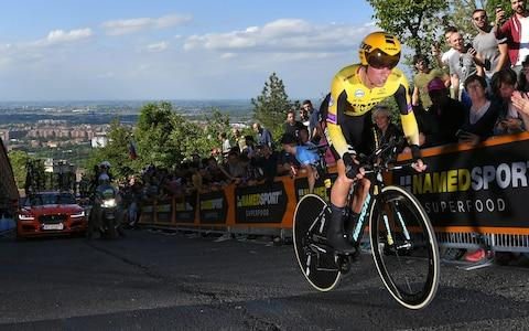 Primoz Roglic - Credit: Getty Images