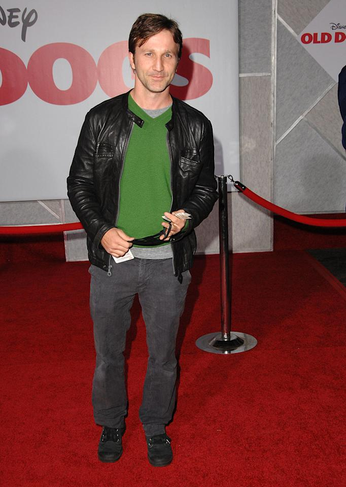 """<a href=""""http://movies.yahoo.com/movie/contributor/1800019779"""">Breckin Meyer</a> at the Los Angeles premiere of <a href=""""http://movies.yahoo.com/movie/1809918087/info"""">Old Dogs</a> - 11/09/2009"""