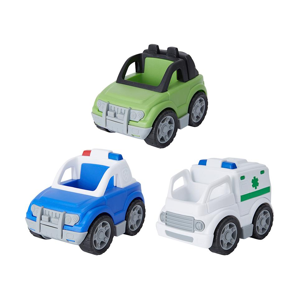 Kmart On the Go Vehicle Toy, $7 each. Photo: supplied.