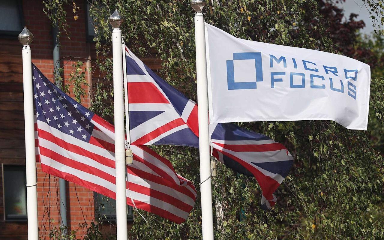 """Micro Focus's executive chairman has dismissed a sharp drop in the technology company's shares as investors nervously approached its huge takeover of Hewlett Packard's software division. The FTSE 100 group's share price fell by 8.1pc despite its full-year results being in line with market expectations, with shareholders wavering ahead of the $8.8bn (£6.8bn) acquisition of HP Enterprise Software, an arm of the US tech giant. The takeover, which is due to go through on September 1, will be one of Britain's biggest ever technology deals, with the HP business accounting for more than half of the combined company's revenues. Shares have fallen in recent weeks amid slower-than-expected trading at HPE Software and ahead of an expected sell-off as American funds that do not own foreign shares sell their existing stakes. On Wednesday they fell further after the company reported like-for-like revenues falling by 0.9pc to $1.4bn and pre-tax profits rising slightly to $196.3m. While they were in line with expectations investors took the results as an opportunity to sell shares. MICRO FOCUS Kevin Loosemore, Micro Focus's executive chairman who masterminded the HP deal, said there was """"no logical reason"""" for the drop in the share price, and pointed out that shares had risen from £1.30 when it floated in 2005 to £20 today. He said analysts suggesting that management had taken their eye off the day-to-day running of the company as they work on integrating the HP business """"don't have a clue what they're talking about"""" and insisted there was a """"general buzz"""" about the company. In September Micro Focus agreed to buy the software division of HP Enterprise, one of the two companies created when Hewlett Packard split in 2015. The business contains many of the assets owned by Autonomy before the British tech company was sold to HP in 2011. When the acquisition is completed, HP Enterprise shareholders will own 51pc of the combined company but many are expected to sell them either because o"""