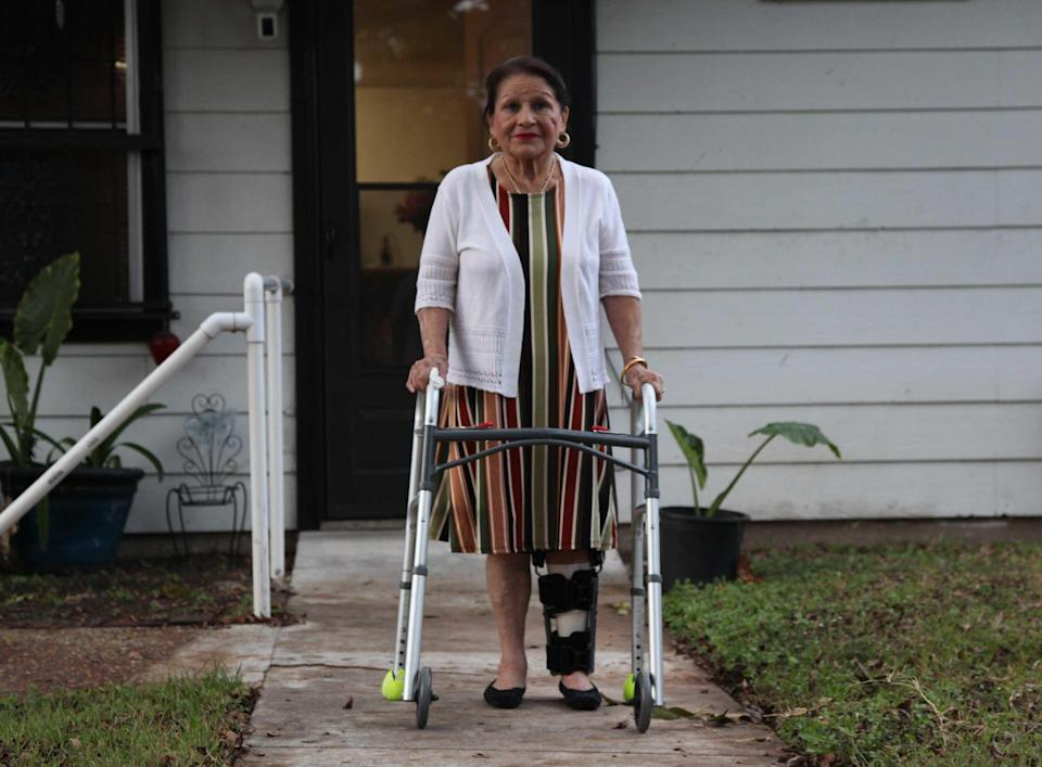 Austin bombing survivor Esperanza Herrera. / Credit: CBS News