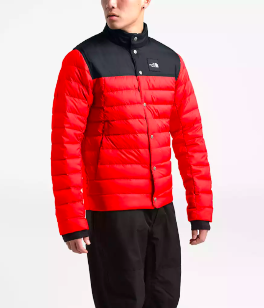 """<h3><h2>The North Face Unisex Down Mid Layer</h2></h3><br>We love the throwback vibes of this color-blocked North Face down shirt. Not only will it remind the cool dude in your life of his grade-school style — we're sure he was on the verge back then, too — it will keep him seriously warm.<br><br><br><br><strong>The North Face</strong> Unisex Down Mid-Layer, $, available at <a href=""""https://go.skimresources.com/?id=30283X879131&url=https%3A%2F%2Fwww.thenorthface.com%2Fshop%2Fseasonal-sale%2Funisex-drt-down-mid-layer-nf0a3lz6-c1%3FvariationId%3DWU5"""" rel=""""nofollow noopener"""" target=""""_blank"""" data-ylk=""""slk:The North Face"""" class=""""link rapid-noclick-resp"""">The North Face</a>"""