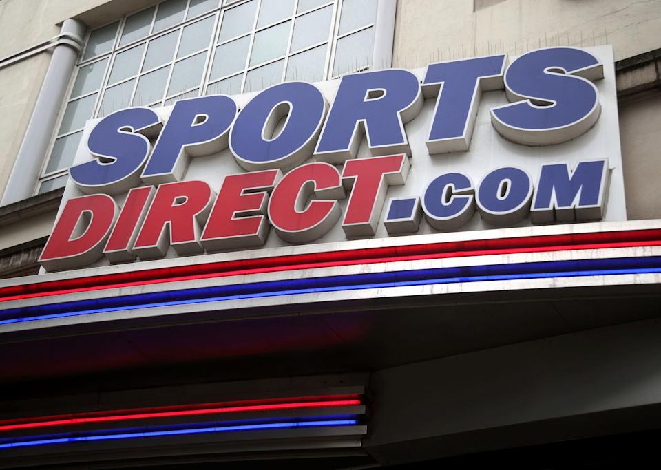 A branch of Sports Direct on Oxford Street, central London.