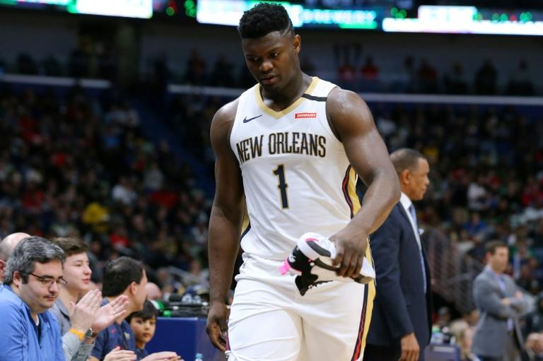 NBA rookie star Zion Williamson of the New Orleans Pelicans was stunned to learn Friday that former US President Barack Obama was a big fan who watches his games and knows his statistics