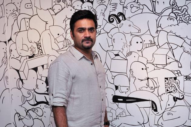 Artist and sculptor Manjunath Kamath. Photo courtesy Gallery Espace.