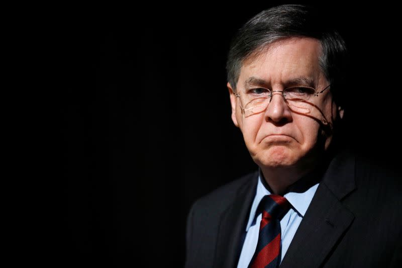 Acting U.S. Assistant Secretary of State for Near Eastern Affairs, David Satterfield, prepares ahead of his address to the 11th Annual International Institute for National Security Studies (INSS) Conference in Tel Aviv