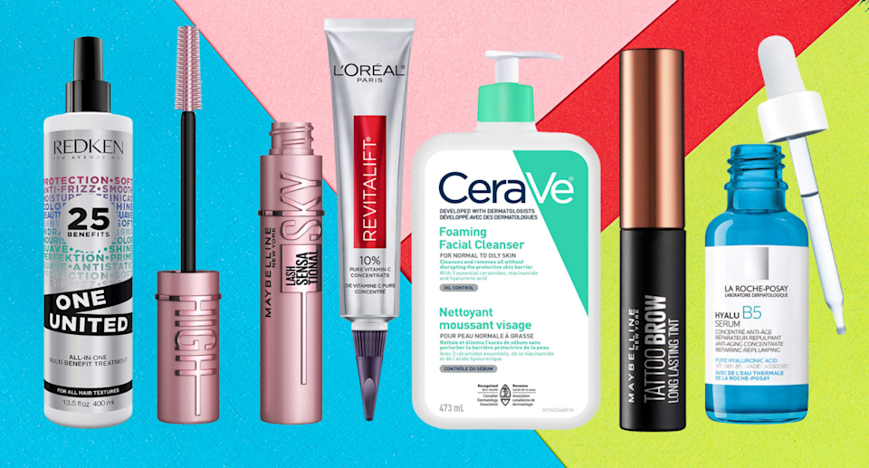 Save big on top brands like Bioderma, La Roche-Posay, and L'Oreal Paris during Amazon's Beauty Week (Photos via Amazon)