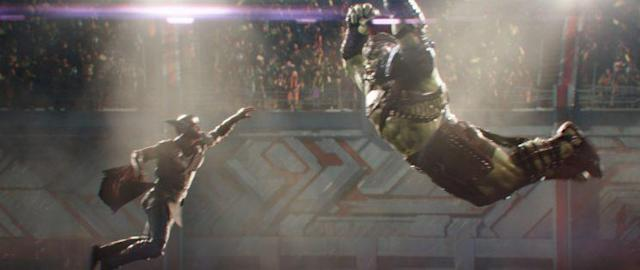 Thor vs. Hulk in <i>Thor: Ragnarok</i> (Photo: Marvel Studios)