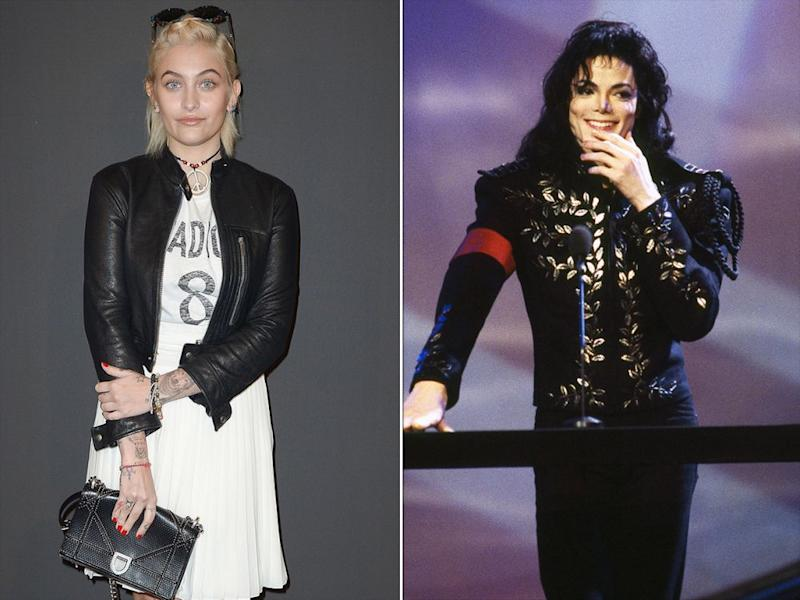 Paris Jackson and Michael Jackson