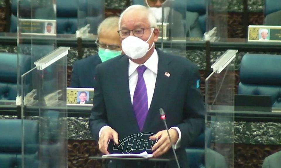 Najib moots 7-day non-extendable total lockdown if ICUs near full capacity