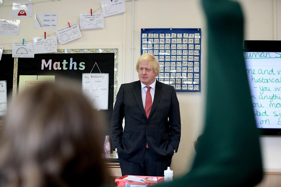 <p>Johnson is being urged to invest heavily in measures including apprenticeships and tutoring</p> (AFP/Getty)