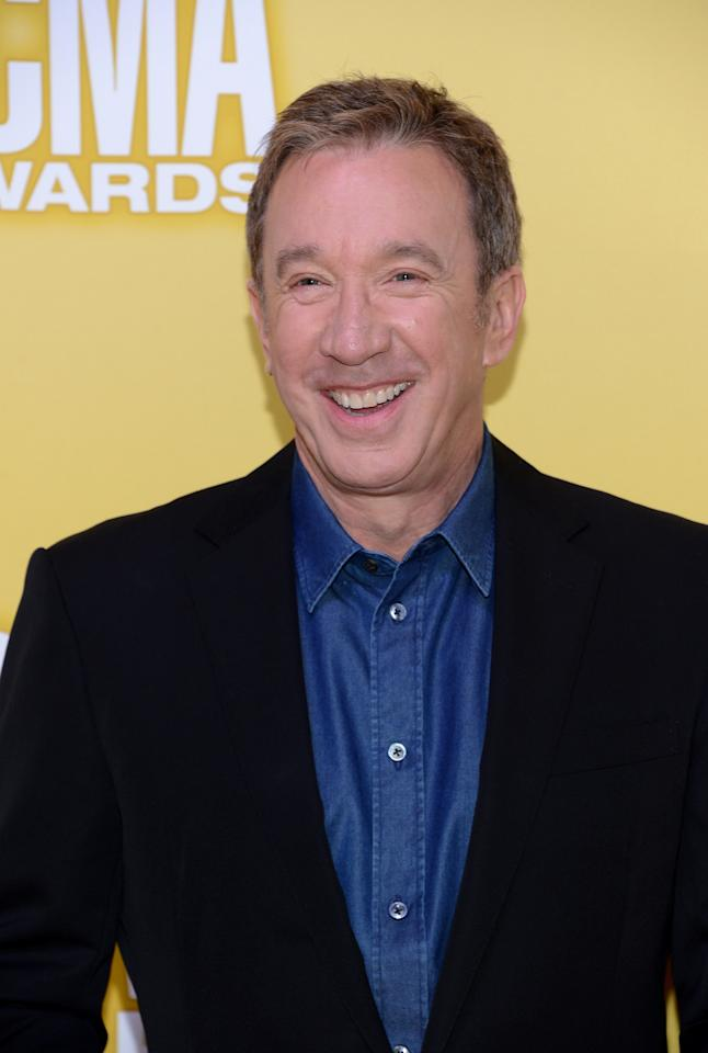 NASHVILLE, TN - NOVEMBER 01:  Actor Tim Allen attends the 46th annual CMA Awards at the Bridgestone Arena on November 1, 2012 in Nashville, Tennessee.  (Photo by Jason Kempin/Getty Images)