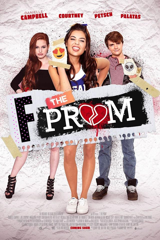 "<p>In this flick, two former BFFs - one of who ditched the other when she became popular - are reunited after the queen bee is dumped by her boyfriend. Feeling embittered and lonely, Maddy reaches out to her old friend, and she and Cole hatch a plan to destroy prom. </p> <p><product href=""http://www.hulu.com/movie/f-the-prom-fe02316d-ebee-487b-8877-d5ee88dec4a4"" target=""_blank"" class=""ga-track"" data-ga-category=""internal click"" data-ga-label=""http://www.hulu.com/movie/f-the-prom-fe02316d-ebee-487b-8877-d5ee88dec4a4"" data-ga-action=""body text link"">Watch <strong>F the Prom</strong> on Hulu</product>.</p>"
