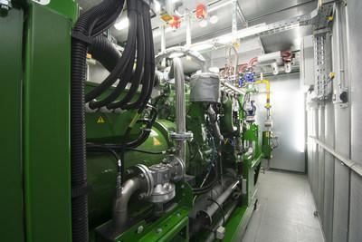 Containerised 100% Hydrogen Combined Heat and Power Plant (PRNewsfoto/2G Energy Ltd)
