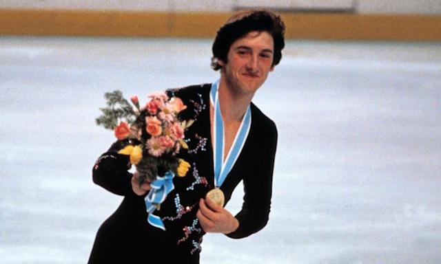 "<span class=""element-image__caption"">Robin Cousins at the 1980 Lake Placid Winter Olympics.</span> <span class=""element-image__credit"">Photograph: STAFF/AFP/Getty Images</span>"