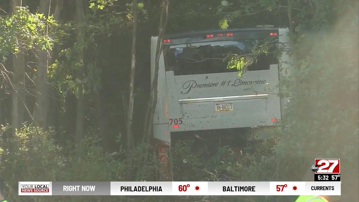 More Than 30 Hospitalized in Pennsylvania After Bus Returning from Church Youth Retreat Crashes Into Trees