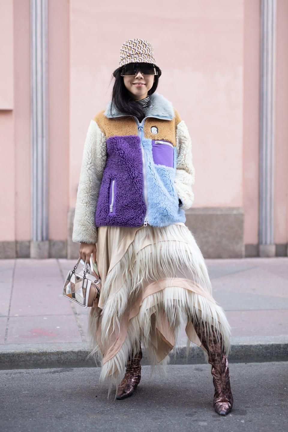 <p>This athleisure trend has officially made it to the runways, infusing itself into the collections of some of our most beloved of high-fashion designers. 3.1 Phillip Lim's collection included those of the short-sleeved variety, Sandy Liang mixed materials for a true patchwork look, and we saw classic colorblocking at Coach - like we remember from our childhood. </p>