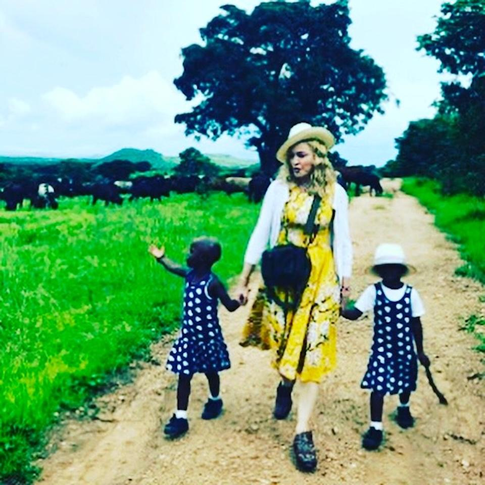 "<p>Madonna added two beautiful little girls — Estere and Stelle — to her brood this week. ""I can officially confirm I have completed the process of adopting twin sisters from Malawi and am overjoyed that they are now part of our family,"" the pop star shared on Instagram. ""I am deeply grateful to all those in Malawi who helped make this possible, and I ask the media please to respect our privacy during this transitional time. Thank you also to my friends, family and my very large team for all your support and Love!"" (Photo: <a rel=""nofollow"" href=""https://www.instagram.com/p/BQQrNl4gzR0/"">Instagram</a>) </p>"
