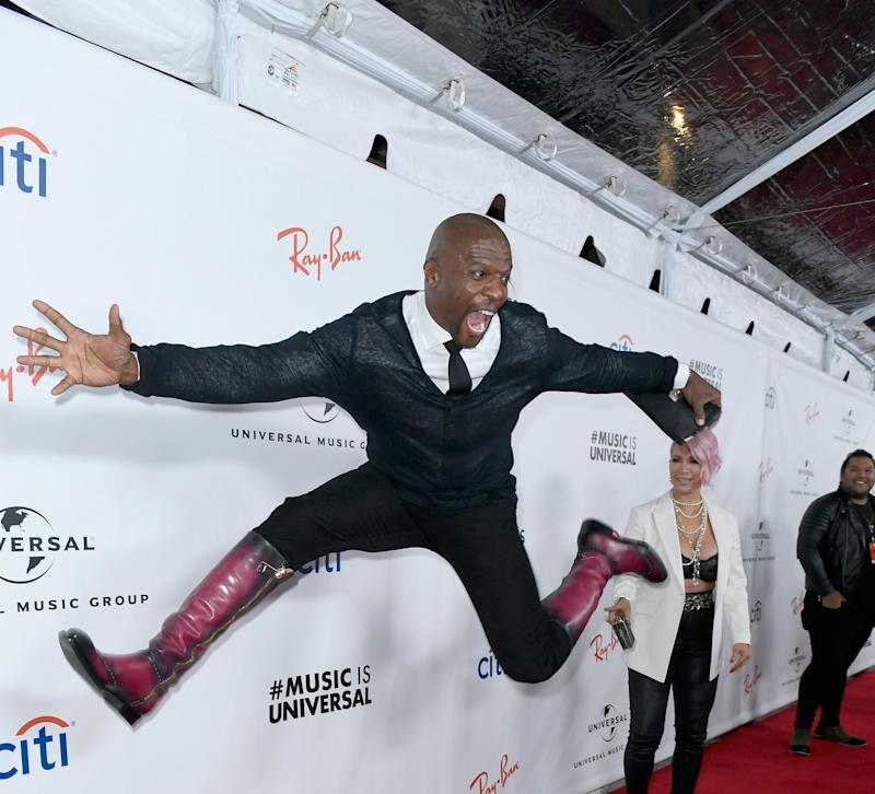 Terry Crews at the UMG party (Getty Images)