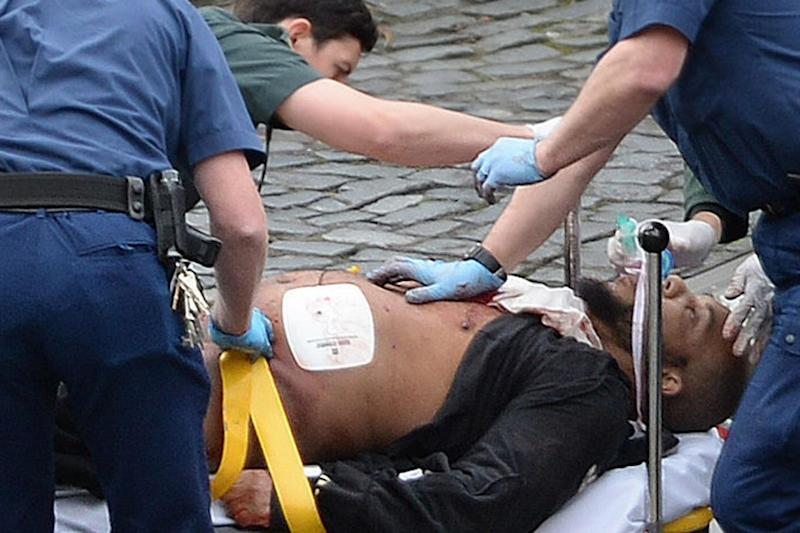 Masood was fatally shot by police outside Parliament (Stefan Rousseau/PA ) (Stefan Rousseau/PA )