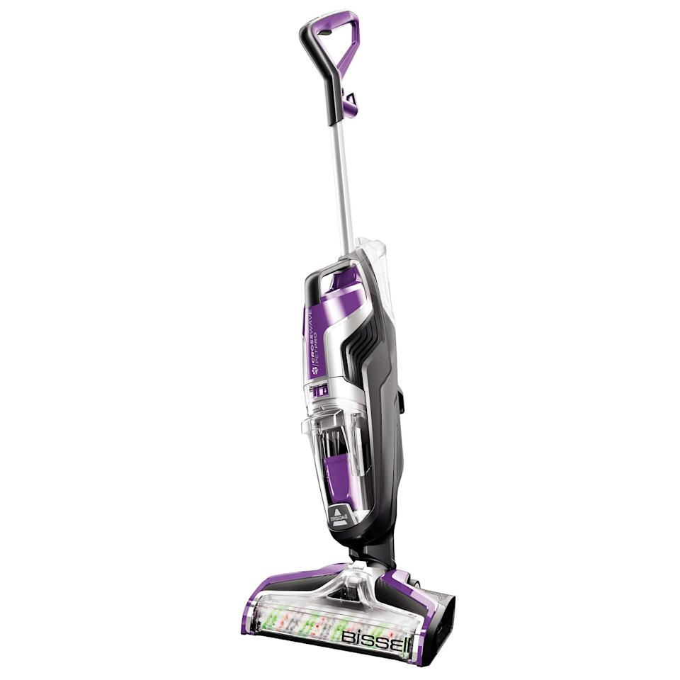 """<h2>Bissell</h2><br>Bissell cordless vacuums, floor robots, and more are up to $100 off right now.<br><br><em>Shop</em> <strong><em><a href=""""https://amzn.to/3wtyOhc"""" rel=""""nofollow noopener"""" target=""""_blank"""" data-ylk=""""slk:Bissell"""" class=""""link rapid-noclick-resp"""">Bissell</a></em></strong><br><br><strong>Bissell</strong> Crosswave Pet Pro All in One Wet Dry Vacuum, $, available at <a href=""""https://amzn.to/3cGptuI"""" rel=""""nofollow noopener"""" target=""""_blank"""" data-ylk=""""slk:Amazon"""" class=""""link rapid-noclick-resp"""">Amazon</a>"""