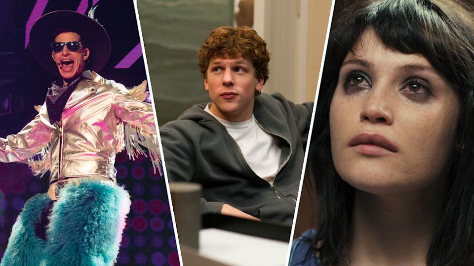 Popstar: Never Stop Never Stopping, The Social Network, The Disappearance of Alice Creed.