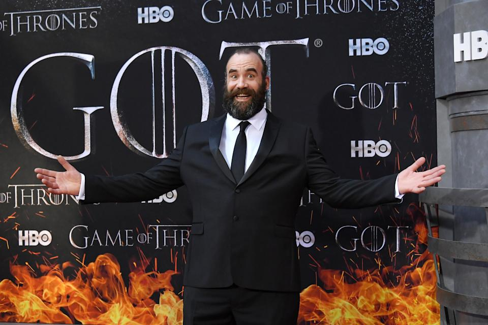 NEW YORK, NY – APRIL 03: Rory McCann attends the 'Game Of Thrones' season 8 premiere on April 3, 2019 in New York City. (Photo by Mike Coppola/FilmMagic)