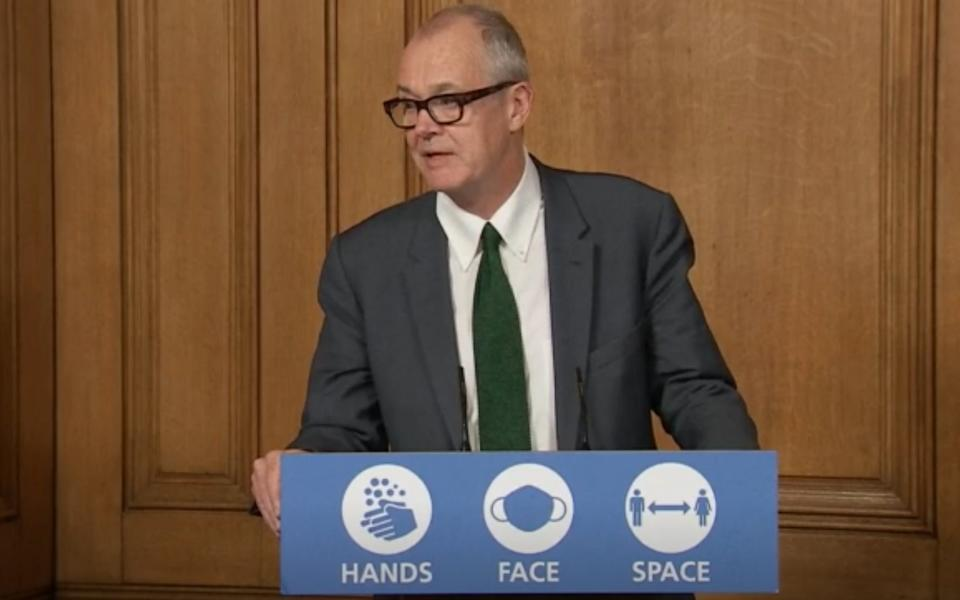 The vaccine taskforce was created by Sir Patrick Vallance - PA