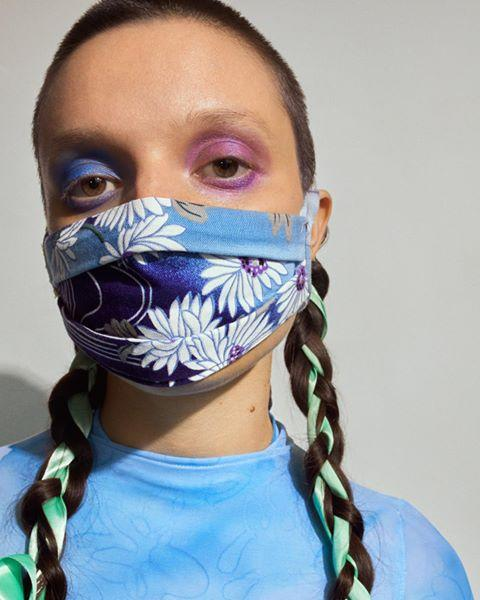 """<p>Collina Strada makes some of the coolest sustainable wares and face masks, so it's no surprise the brand's beauty looks are on point. Get inspired and shop Collina Strada masks <a href=""""https://collinastrada.com/collections/main-collection"""" target=""""_blank"""">here</a>.<br> </p><p><a href=""""https://www.instagram.com/p/B_7nfTNANeo/"""">See the original post on Instagram</a></p>"""