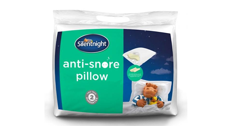 Silentnight's Anti-snore Pillow