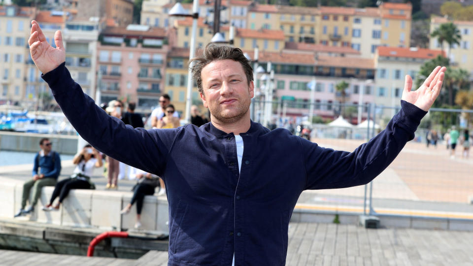 Jamie Oliver turned detective to locate his own stolen tractor. (Valery Hache/AFP via Getty Images)