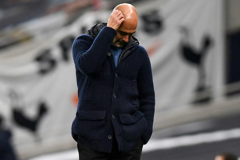 Pep Guardiola's Manchester City slumped to defeat days after he extended his contract to 2023