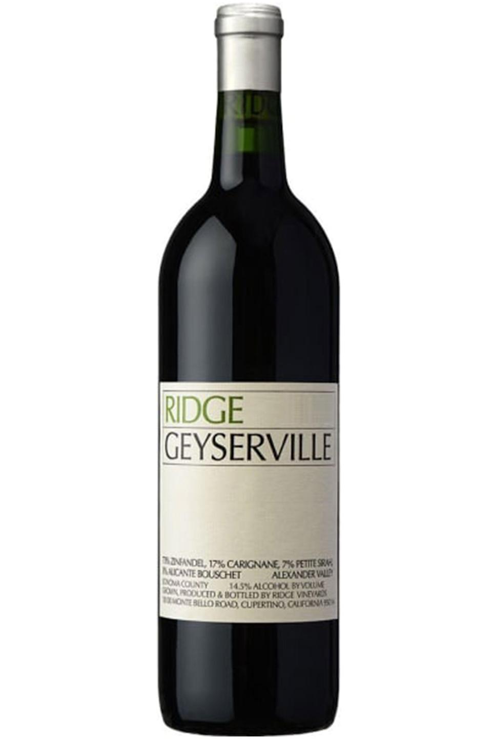 """<p>wine.com</p><p><strong>$41.99</strong></p><p><a href=""""https://go.redirectingat.com?id=74968X1596630&url=https%3A%2F%2Fwww.wine.com%2Fproduct%2Fridge-geyserville-2017%2F509122&sref=https%3A%2F%2Fwww.townandcountrymag.com%2Fleisure%2Fdrinks%2Fg32392235%2Fbest-red-wine%2F"""" rel=""""nofollow noopener"""" target=""""_blank"""" data-ylk=""""slk:Shop Now"""" class=""""link rapid-noclick-resp"""">Shop Now</a></p><p>Lambrecht likes this Zinfandel from Ridge, a winery that he calls """"a master blender, and in particular, king of Zinfandel blends.""""</p>"""