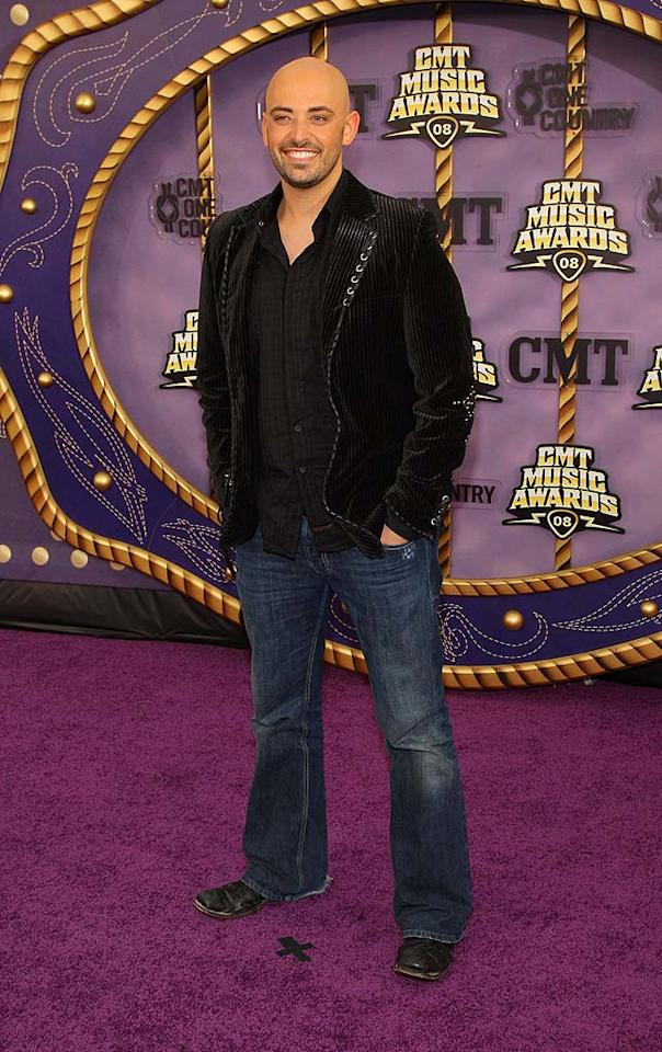 "Former ""American Idol"" contestant Phil Stacey was all smiles in what seems be the standard uniform for male country stars: jeans and a blazer. Stephen Lovekin/<a href=""http://www.gettyimages.com/"" target=""new"">GettyImages.com</a> - April 14, 2008"