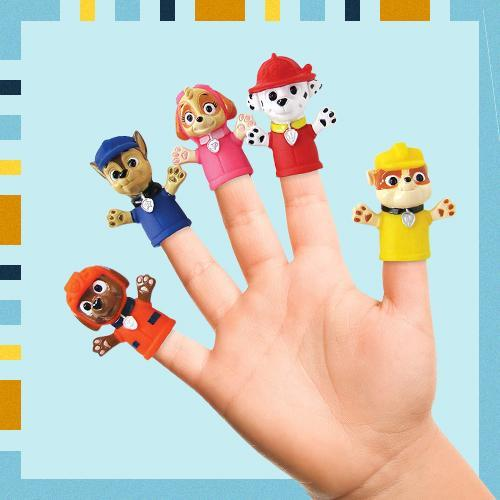 paw patrol finger puppets, best Christmas gifts
