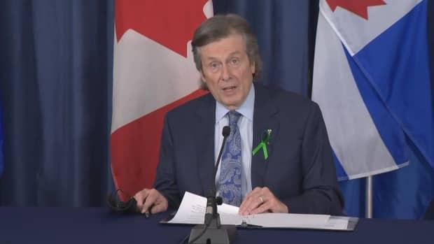 Toronto Mayor John Tory says all City of Toronto employees must disclose their vaccination status by Sept. 13. (CBC - image credit)