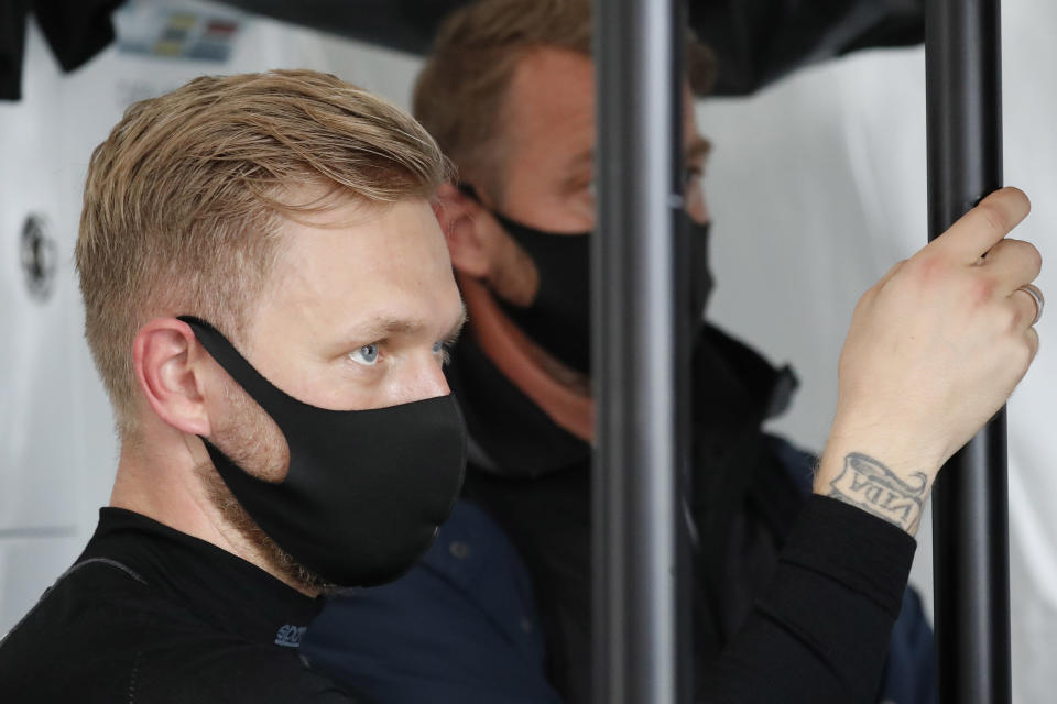 <em>Kevin Magnussen, who raced for Haas F1 from 2017-2020, had an impressive Rolex 24 debut for Chip Ganassi Racing (IMSA).</em>