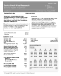 SNES: SenesTech announced preliminary unaudited revenues for the fourth quarter 2019 that were close to our estimates. It also outlined cost reductions including a reduction in headcount.